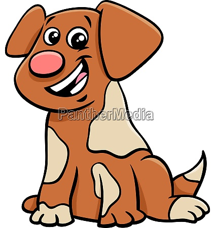 puppy or dog cartoon animal character