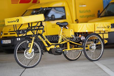 fototermin 10000ster streetscooter bei deutsche post