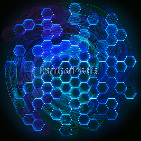 abstract colored background technology connection
