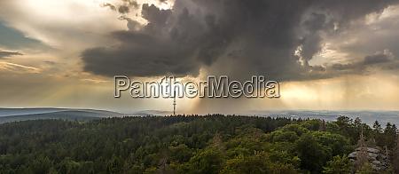panorama rain