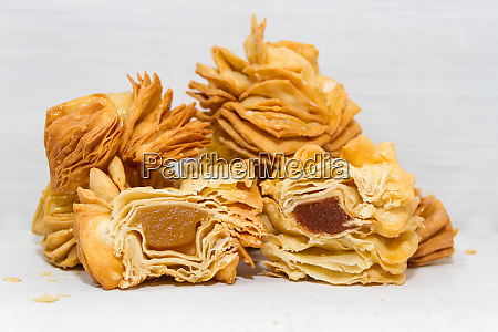 fried pastries traditional sweets of the