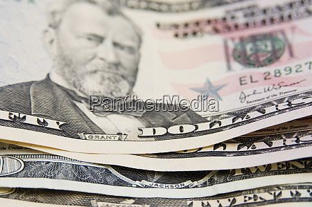 us currency 50 and 20 dollar