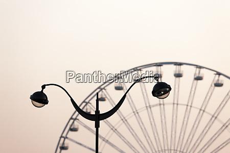 ferris wheel at place de la