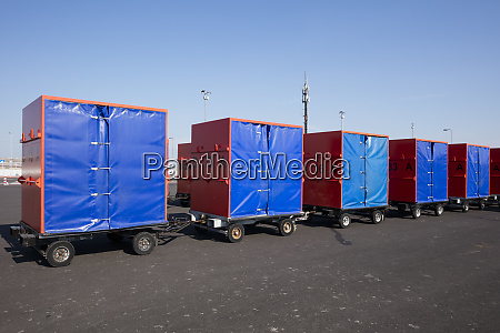germany norddeich baggage containers
