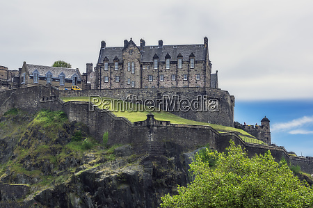 uk scotland edinburgh view to edinburgh