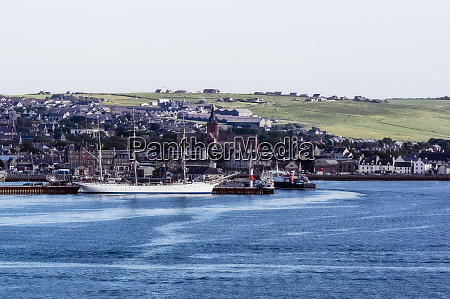 great britain scotland orkney kirkwall harbour