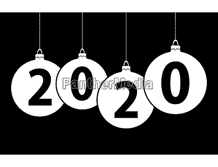 new year 2020 christmas bubbles