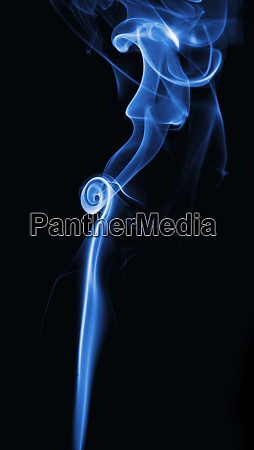 picture of smoke with black background