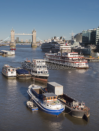tower bridge and river thames london