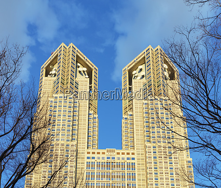 tocho government building shinjuku tokyo japan