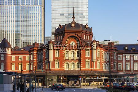 tokyo station tokyo japan asia