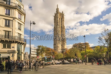 square de la tour saint jacques