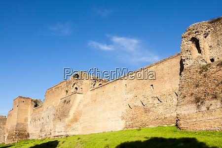 aurelian walls mura aureliane unesco world