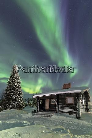 the northern lights aurora borealis frame