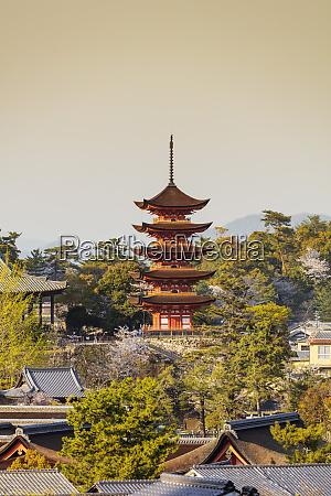 komyoin five story pagoda unesco world