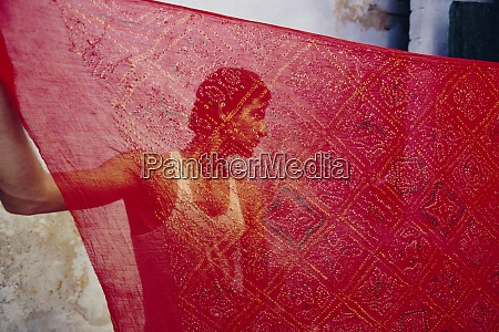 tie dye process bhuj town kutch