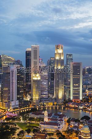 financial district singapore southeast asia asia