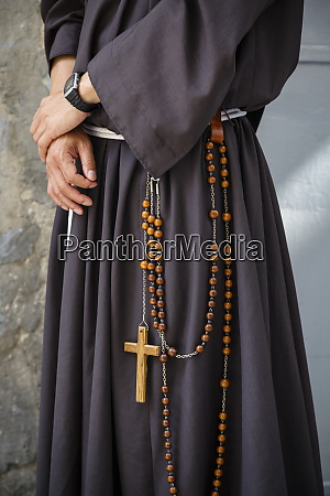 franciscan monk jerusalem israel middle east