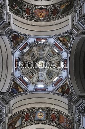 interior detail salzburger dom salzburg austria