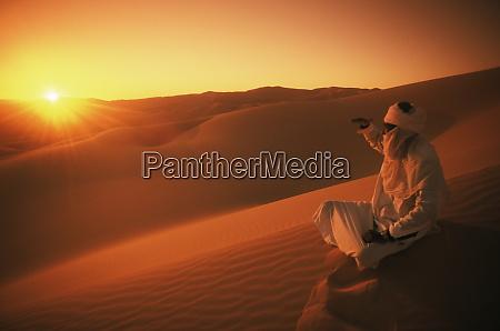 awbari erg southwest desert libya north