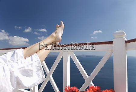 oia santorini thira cyclades islands greek