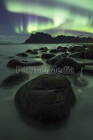 aurora borealis northern lights over a