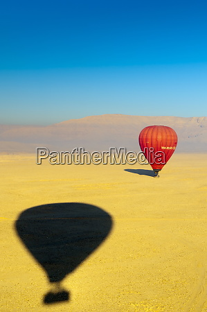 ballooning over the valley of the