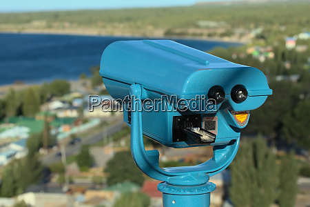 tower viewer or binoculars in chile
