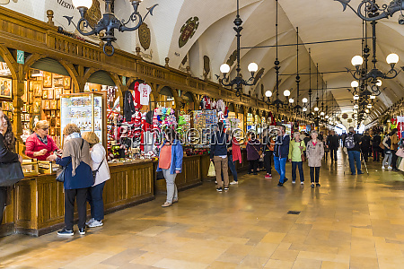 the market hall in cloth hall