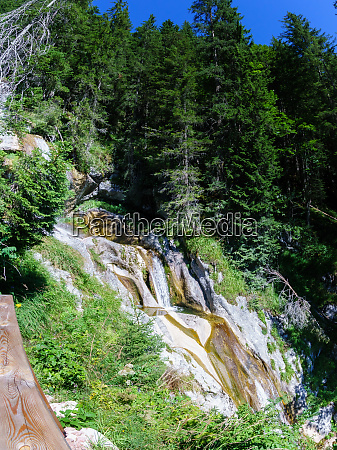 waterfall path to the loferer alm
