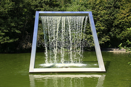 water feature in a lake in
