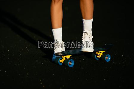 details skateboard white shoes