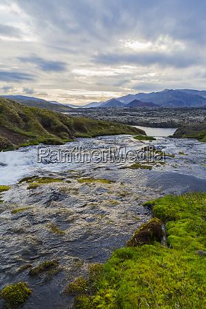 a gorgeous fresh water river runs
