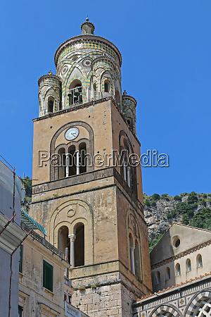 amalfi church tower