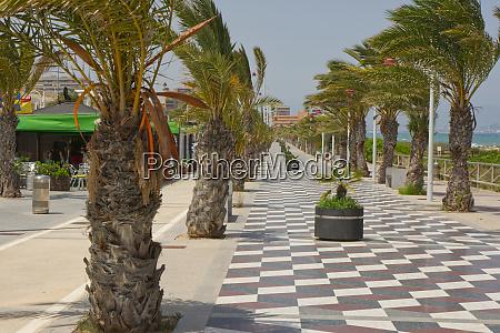 seafront near alicante costa blanca spain