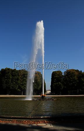 a big fountain