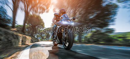 motorcycle motorcyclist biker rider race fast