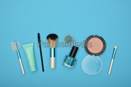 feminine makeup and beauty care set