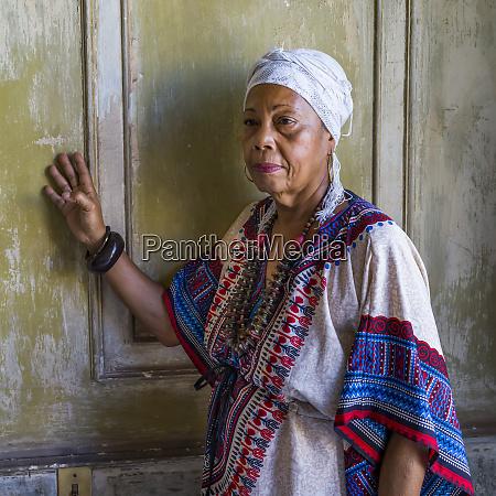 portrait of a cuban woman havana
