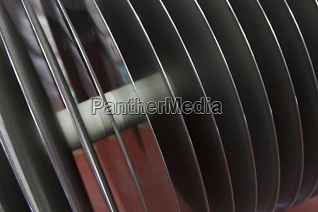 close up of a tank filter