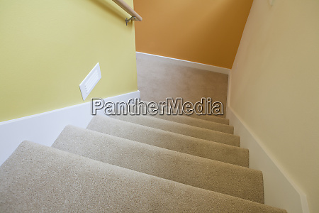 newly build stairwell of a disability