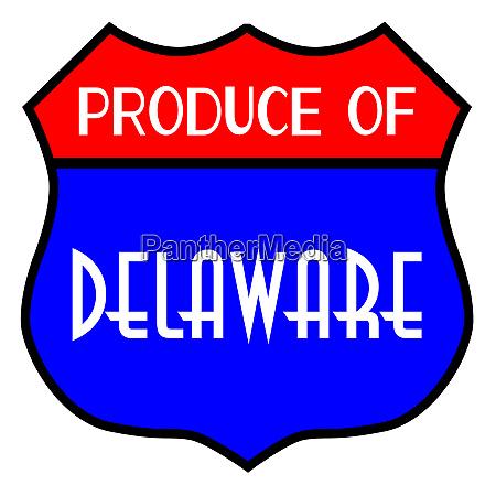 produce of delaware