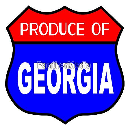 produce of georgia