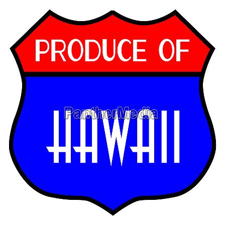 produce of hawaii