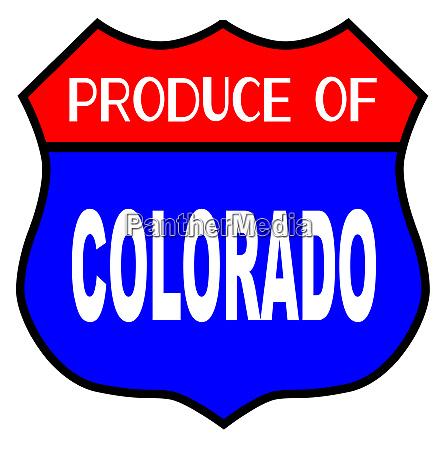 produce of colorado
