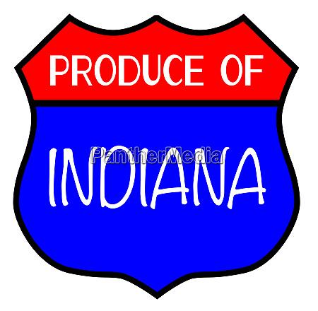 produce of indiana