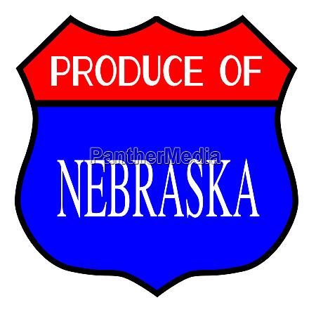 produce of nebraska