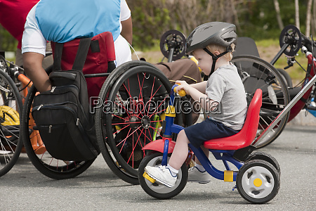man with spinal cord injury and