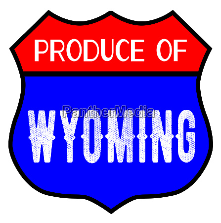 produce of wyoming
