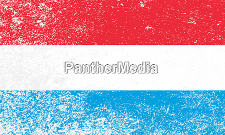 luxembourg national flag grunge